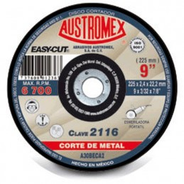 "Disco Corte De Metal 9"" Austromex 2116 AUS2116 AUSTROMEX"