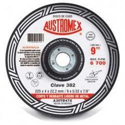 """Disco Para Corte Metal 9"""" Austromex 382 (Cubo) AUSTROMEX AUS382"""