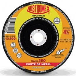 """Disco Para Corte Metal 4 1/2"""" Austromex 390 (Cubo) AUS390 AUSTROMEX"""