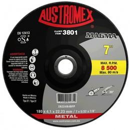 "Disco Desbaste Metal 7"" Austromex 3801 AUS3801 AUSTROMEX"