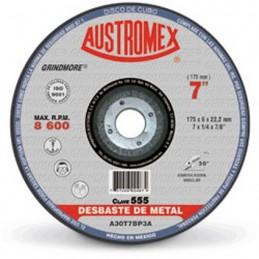 "Disco Para Desbaste Metal 7"" Austromex 555 Grindmore AUSTROMEX AUS555"