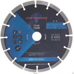 "Disco Diamante Segmentado 9"" Austromex 1523 AUS1523 AUSTROMEX"