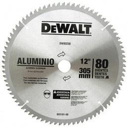 """Disco Sierra 12""""X80 Dientes Flecha 30Mm C Dewalt A03230 DWA03230 DEWALT ACCESORIOS"""