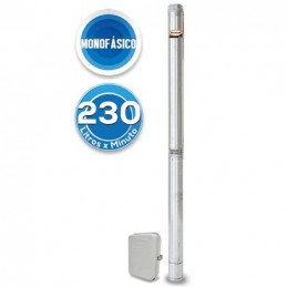 Bomba Sumergible 4 Pozo 5.0 Hp 80Gpm Evans Vsd480Me500G3 VSD480ME500G3 EVANS