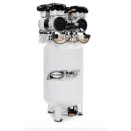 Compresor Silencioso Vertical 4 Hp 1 Etapa Libre De Aceite Evans Vel200E400-130 VEL200E400-130 EVANS