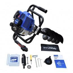 Motoperforadora 100X20 Cm Motor 2.5HP Para 52Cc Hyundai HHP520 HYU-HHP520 HYUNDAI