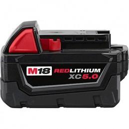 Bateria De 18 Volts M18 Redlithium 5.0 Ah Milwaukee 48111850 AMIL48111850 MILWAUKEE ACCESORIOS