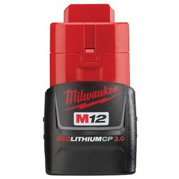 Bateria M12 Redlithium 3.0 Milwaukee 48112430 AMIL48112430 MILWAUKEE ACCESORIOS