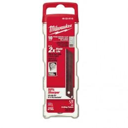 Navaja De Repuesto 10 Piezas Pro Milwaukee 48229118 AMIL48229118 MILWAUKEE ACCESORIOS
