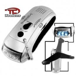 Lámpara Emergencia Con Radio No Requiere Baterías Ridgerock Rig40280L RIG40280L NEIKO