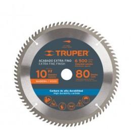 "Disco Sierra Para Madera 10"" 40 Dientes Centro 1"" Truper Trup-18307 TRUP-18307 TRUPER"