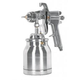 Pistola Para Pintar Succión Hvhp Vaso Alum 1.8Mm 2 Perillas Truper 14087 TRUP-14087 TRUPER