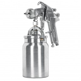 Pistola Para Pintar Succión Hvhp Vaso Alum 1.8Mm 3 Perillas Truper Trup-14085 TRUP-14085 TRUPER