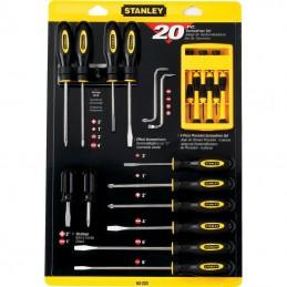 Desarmadores Juego De 20 Piezas Stanley STNSTMT60220-LA STNSTMT60220-LA STANLEY