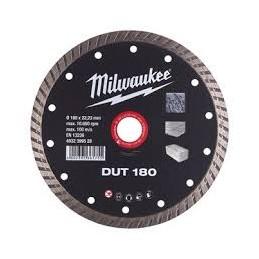 Disco Diamantado Cut Wheel Dut 180 Milwaukee 4932399528 AMIL4932399528 MILWAUKEE ACCESORIOS