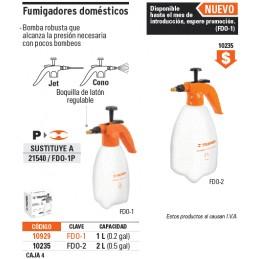 Fumigador Doméstico 2 Litros Truper 10235 TRUP-10235 TRUPER