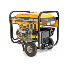 Generador Monofasico De 8 500 W Pico Con Motor A Gasolina Briggs Evans Vg85Mg1350Bsae VG85MG1350BSAE EVANS