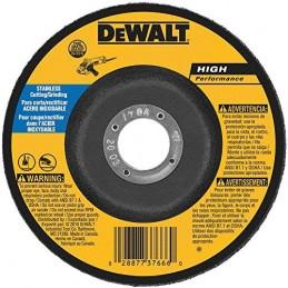 """Disco De Desbaste 7"""" X 1/4"""" X 5/8"""" Con Adapatdor Dewalt 8456 DW8456 DEWALT ACCESORIOS"""