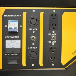 Generador 13.5 Kva 23.0Hp Bb Serie Evans Vg135Mg2300Bs VG135MG2300BS EVANS
