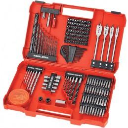 Accesorios Para Taladro Y Destorinillador De 129 Piezas Black & Decker BD7191291 BLACK AND DECKER BD7191291