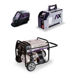 Generador Axt-G10K 10 Kw + Soldadora Inversora Axt-160Tbv CEN-AXT-COM10 AXTECH
