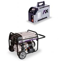 Generador Axt-G10K 10 Kw + Soldadora Inversora Axt-202Lcd CEN-AXT-COM11 AXTECH