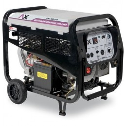 Motosoldadora A Diesel 200 Amp 10 Hp 5,500 Watts CEN-AXT-MD200 AXTECH