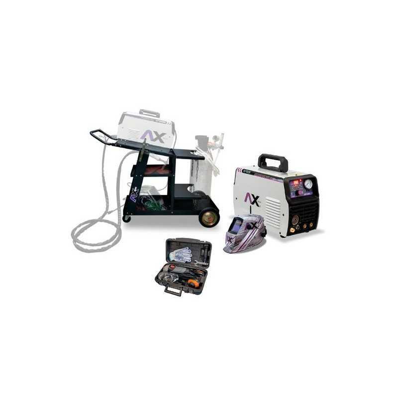 Soldadora Axt-Tec200 Trolley Careta Electronica Mini C/Accesorios CEN-AXT-COM06 AXTECH