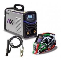 Soldadora Inversora 200Amp Bi Voltaje 110-220V + Careta Electro CEN-AXT-P207LCD AXTECH