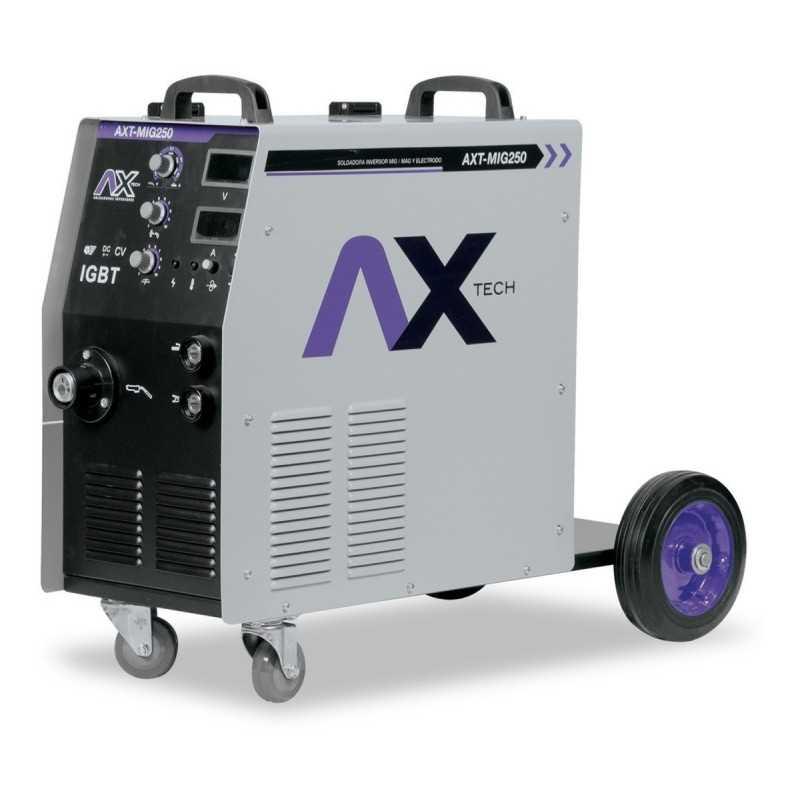 Soldadora Inversora Mig/Mag/Electrodo 250 Amp 220 Volts Electrodo CEN-AXT-MIG250 AXTECH