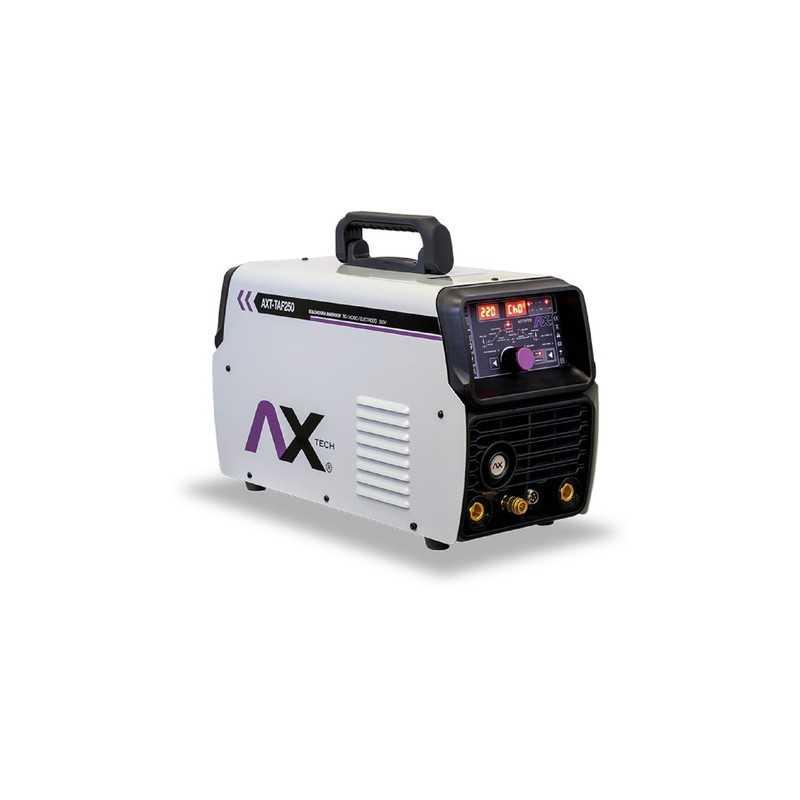Soldadora De Electrodo Tig Ca/Cd Aluminio 250 Amp 220 Volts CEN-AXT-TAF250 AXTECH
