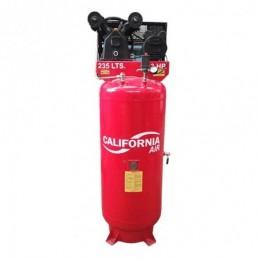 Compresor De Banda Vertical 3Hp 235Lts 120Psi 220V 1Fase S/Guarda California Machinery CALC235KITARM-S CALC235KITARM-S CALIFO...