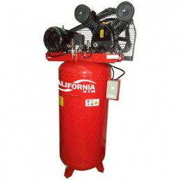 Compresor De Banda Vertical 3 Hp 230 Litros 110-220 Volts California Machinery CALEBY30KIT CALEBY30KIT CALIFORNIA AIR