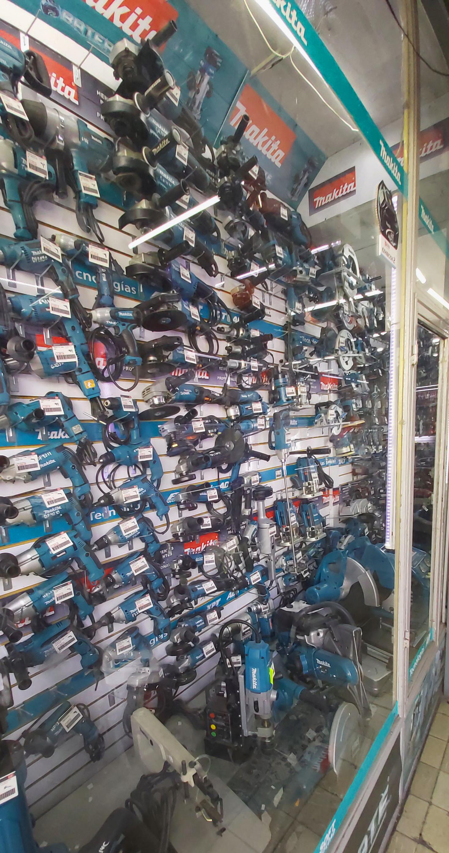 Sala de exhibicion Makita Guadalajara