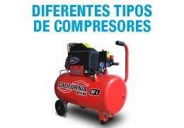 ¿Cuántos tipos de compresores existen?